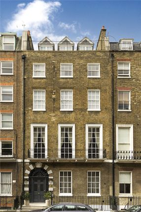 Thumbnail Terraced house for sale in Harley Street, Marylebone, London