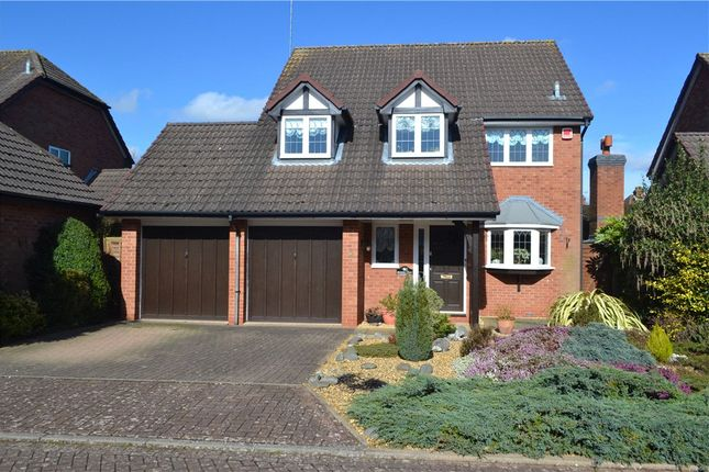 Thumbnail Detached house for sale in Spilsbury Close, Leamington Spa, Warwickshire
