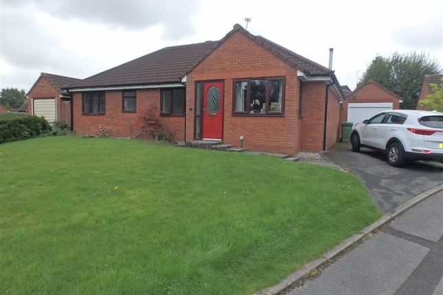 Thumbnail Detached bungalow for sale in Ledyard Close, Old Hall, Warrington, Cheshire