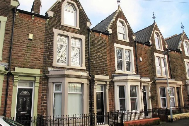 Thumbnail Terraced house to rent in Dora Crescent, Workington