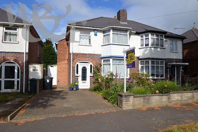 Thumbnail Semi-detached house for sale in Lindridge Road, Erdington, Birmingham