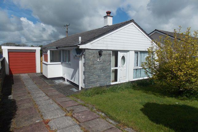 Thumbnail Detached bungalow to rent in Lewannick, Launceston, Cornwall