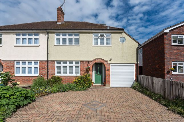 Thumbnail Semi-detached house for sale in St. Matthews Avenue, Surbiton