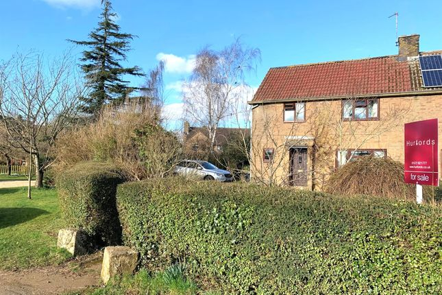 Thumbnail Semi-detached house for sale in The Green, Ridlington, Oakham