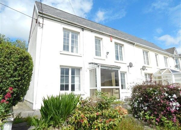 Thumbnail Semi-detached house for sale in Glenview, Llangynidr Road, Beaufort