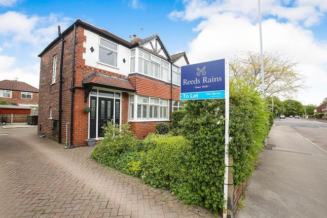 Thumbnail Semi-detached house to rent in Woodlands Drive, Stockport