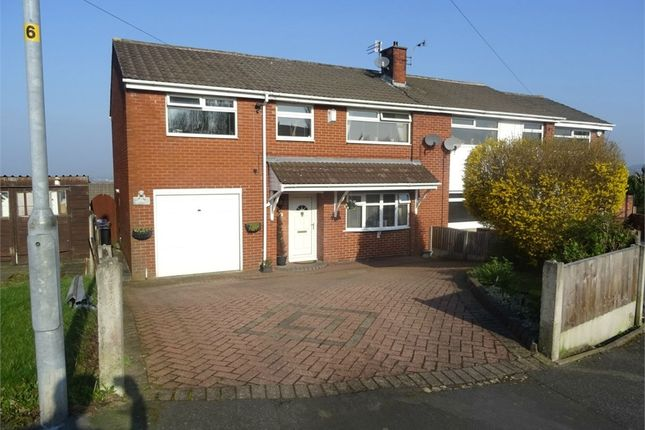 Thumbnail Semi-detached house for sale in High Croft Close, Dukinfield, Greater Manchester