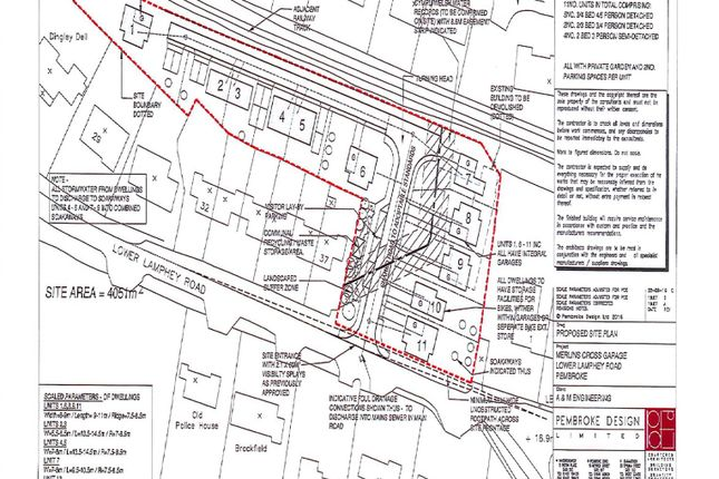 Thumbnail Land for sale in Lower Lamphey Road, Pembroke