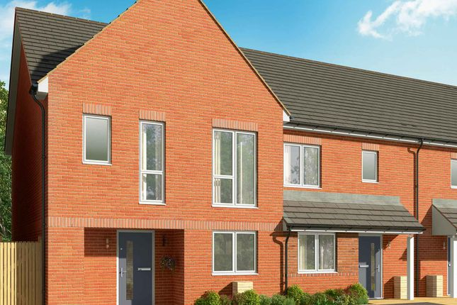 Thumbnail End terrace house for sale in Connolly Way, Chichester