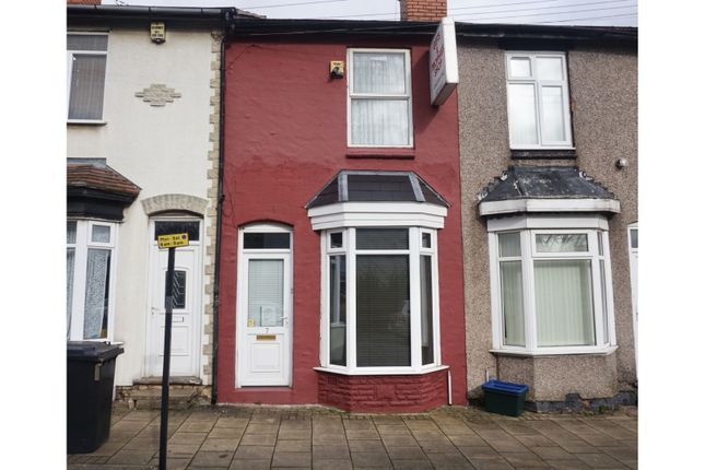 2 bed terraced house to rent in Chatham Road, Birmingham B31