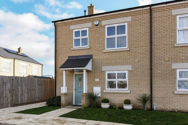 Thumbnail End terrace house to rent in Ashdene Road, Bicester