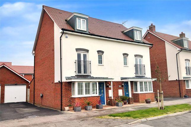 Thumbnail Semi-detached house for sale in Benjamin Gray Drive, Littlehampton, West Sussex