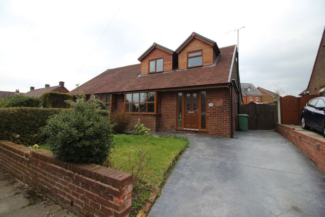 Thumbnail Semi-detached bungalow to rent in Melford Drive, Billinge, Wigan