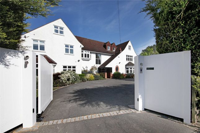 Thumbnail Detached house for sale in Penn Road, Knotty Green, Beaconsfield, Buckinghamshire