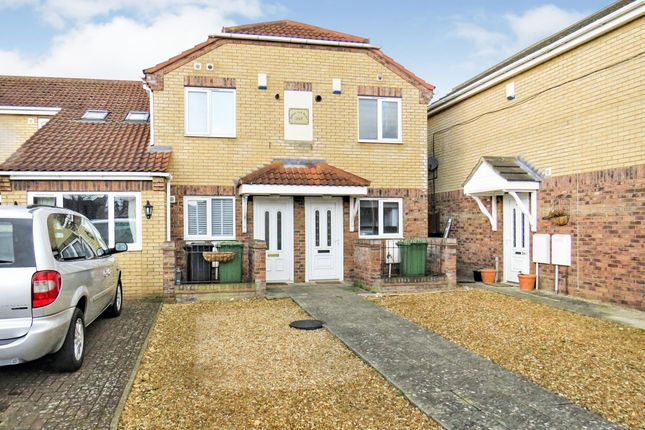 Thumbnail Terraced house for sale in Isherwood Close, Peterborough