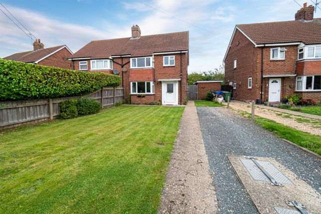 Thumbnail Semi-detached house for sale in The Villas, Great Hatfield, Hull
