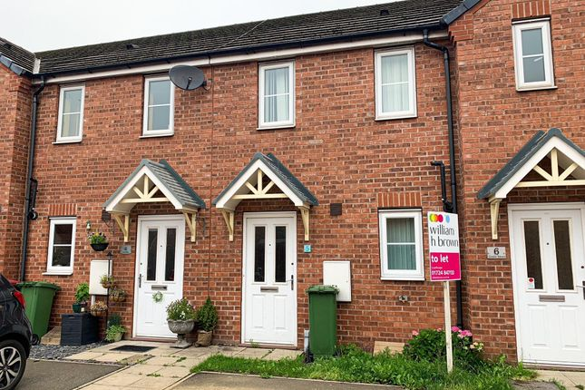Thumbnail Terraced house to rent in Grebe Mews, Scunthorpe