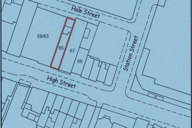 Map_For_Caldes of 65 High Street Freehold Investment, Aylesbury, Buckinghamshire HP20