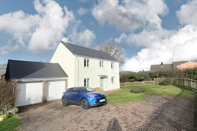 Thumbnail Detached house for sale in Tappers Meadow, Okehampton