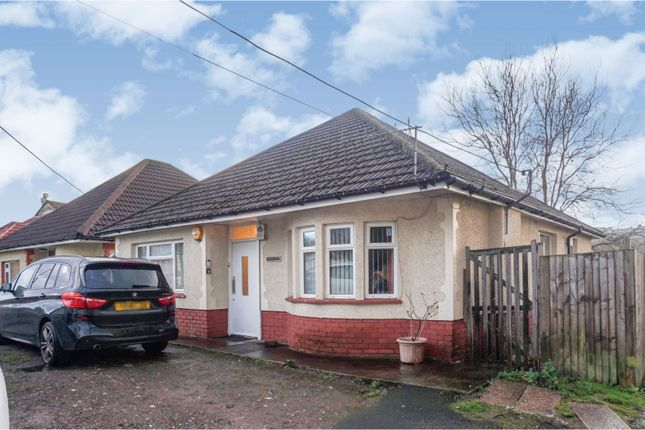 Thumbnail Detached bungalow for sale in Nantgarw Road, Caerphilly