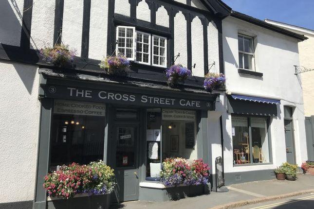 Thumbnail Restaurant/cafe for sale in Cross Street, Moretonhampstead, Newton Abbot