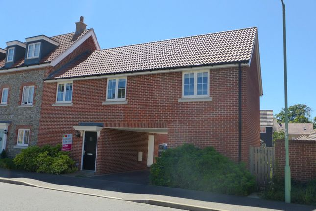 Thumbnail Maisonette to rent in Larch Way, Red Lodge, Bury St. Edmunds