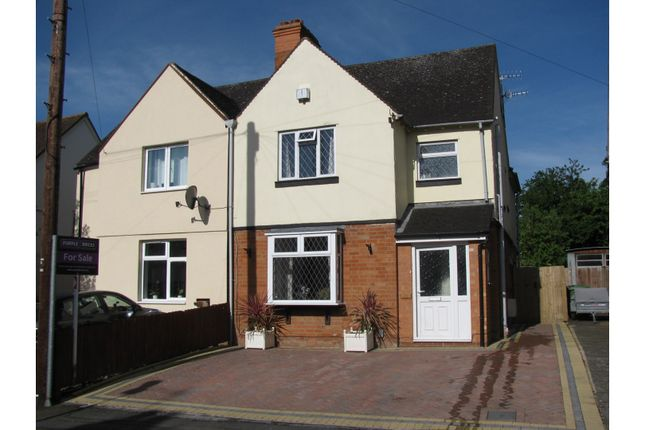 Thumbnail Semi-detached house for sale in Percy Street, Stratford-Upon-Avon