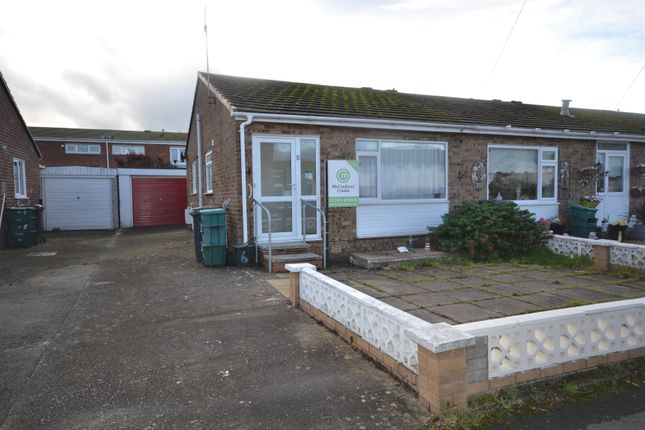 Thumbnail Semi-detached bungalow for sale in Llys Arthur, Towyn