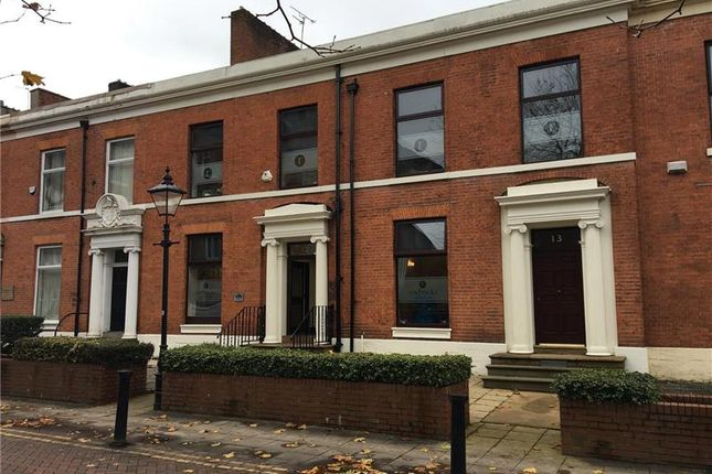 Thumbnail Office for sale in 12-13, Richmond Terrace, Blackburn, North West