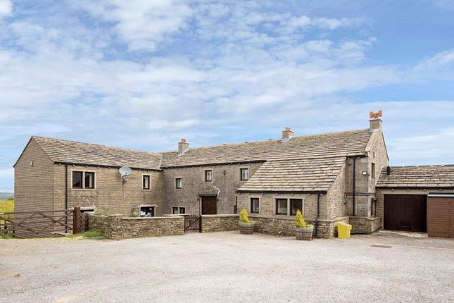 Thumbnail Detached house for sale in Hill Top Farm, Weather Hill Lane, Holmfirth