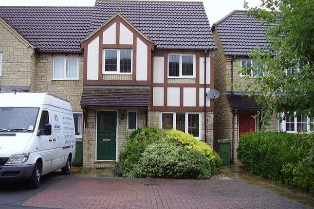 Thumbnail End terrace house to rent in Blackberry Grove, Bishops Cleeve, Cheltenham