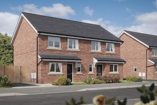 Thumbnail Semi-detached house for sale in 28 Latrigg Road, Carlisle, Cumbria