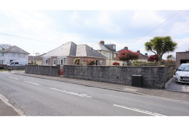 Thumbnail Detached bungalow for sale in Church Hill, Plymouth