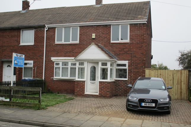 Thumbnail Semi-detached house to rent in Landseer Gardens, Whiteleas Estate South Shields