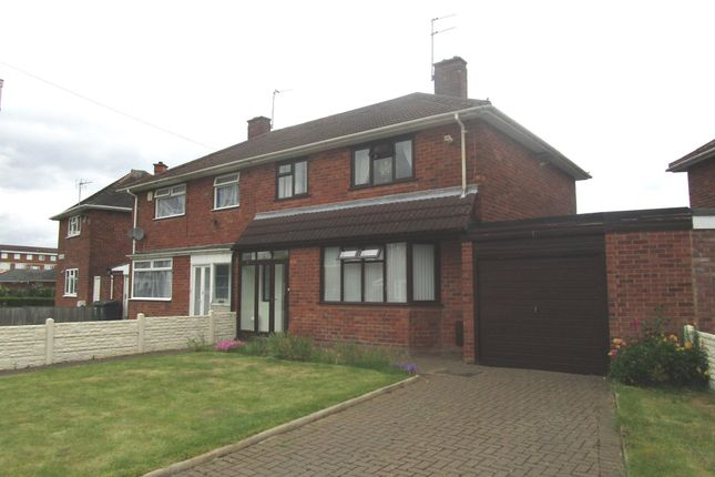 Thumbnail Semi-detached house for sale in Ashfield Road, Fordhouses, Wolverhampton