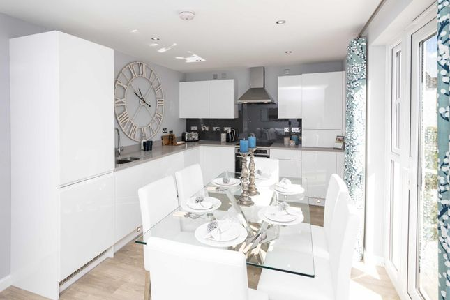 "Thumbnail Semi-detached house for sale in ""Craigend"" at Greystone Road, Kemnay, Inverurie"