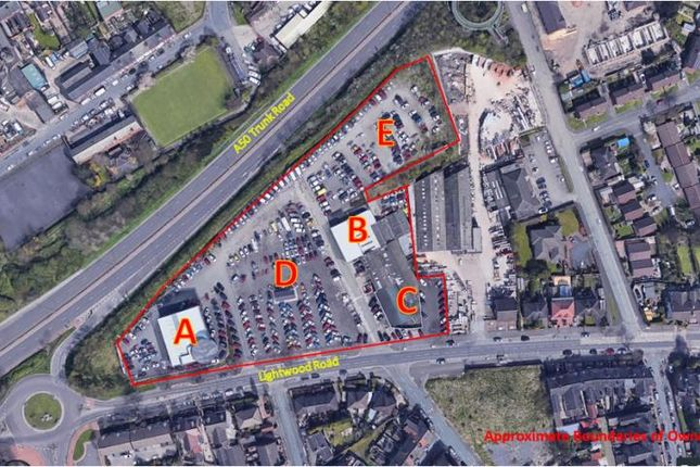 Thumbnail Land to let in D, Platts Garage Group, Lightwood Road, Longton, Stoke-On-Trent