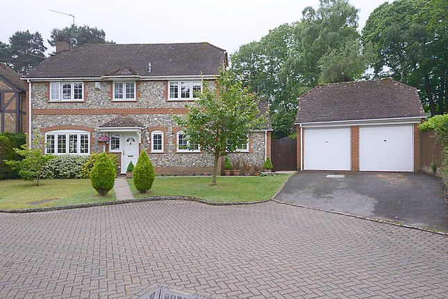Thumbnail Detached house for sale in Hawkesworth Drive, Bagshot