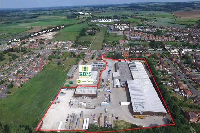 Light industrial for sale in Holme Road, Market Weighton, East Riding Of Yorkshire