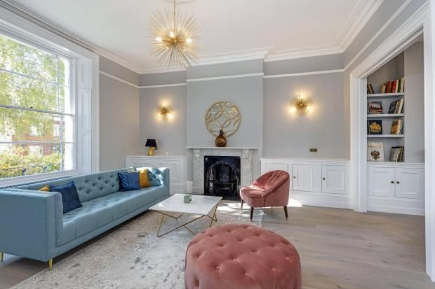Thumbnail Semi-detached house for sale in Belsize Road, South Hampstead, London