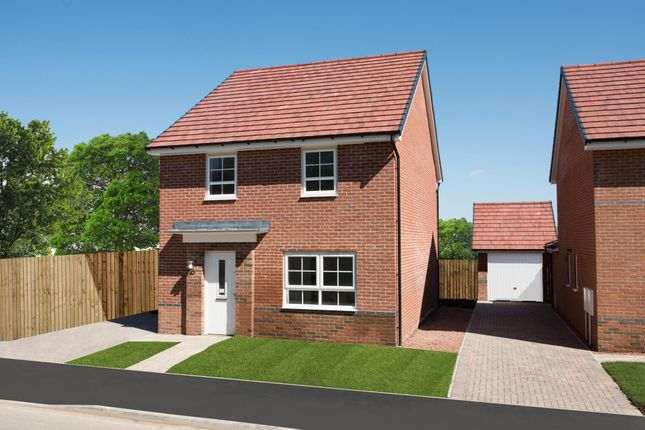 """Thumbnail Detached house for sale in """"Chester"""" at Tiber Road, North Hykeham, Lincoln"""