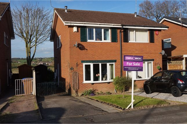 Thumbnail Semi-detached house for sale in Silsden Grove, Stoke-On-Trent