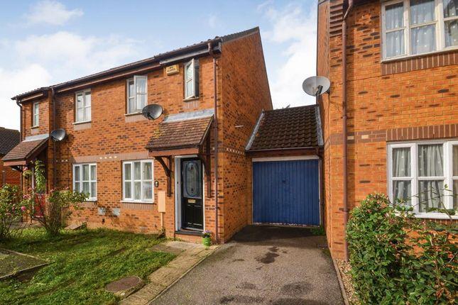 Semi-detached house for sale in Camlet Grove, Stantonbury Fields, Milton Keynes, Buckinghamshire