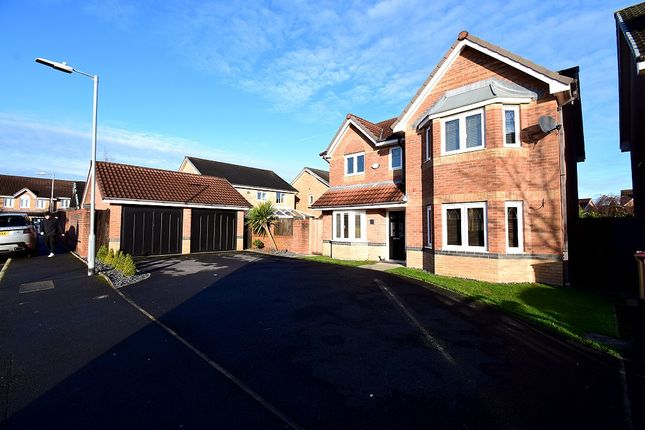 Thumbnail Detached house for sale in Madison Park, Westhoughton