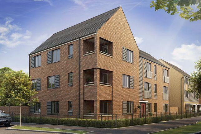 "Thumbnail Flat for sale in ""Malton"" at Fen Street, Brooklands, Milton Keynes"