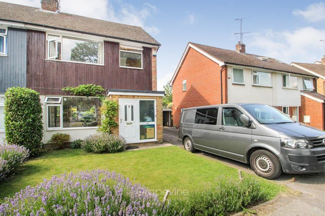 Thumbnail Semi-detached house for sale in Hermitage Drive, Twyford, Reading