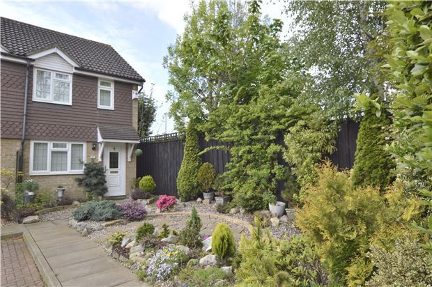 Thumbnail End terrace house for sale in Staffords Place, Limes Avenue, Horley