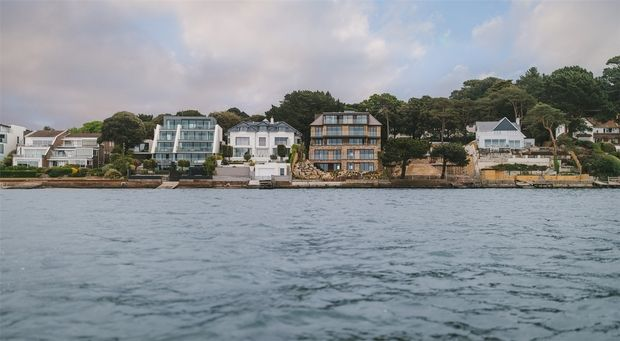 Thumbnail Flat for sale in 336-338 Sandbanks Road, Evening Hill, Poole, Dorset