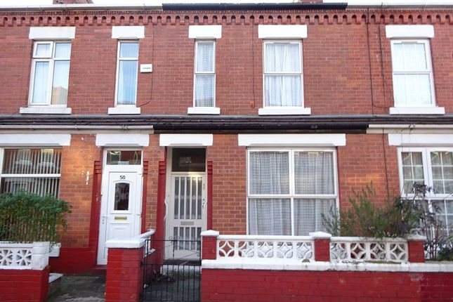 Thumbnail Terraced house for sale in Darnley Street, Old Trafford, Manchester.