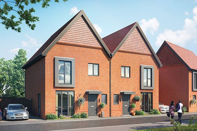 Semi-detached house for sale in Plot 23 The Drayton, Crowthorne